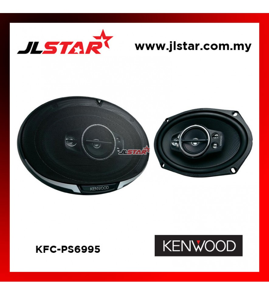 KENWOOD KFC-PS6995 6x9INCH 5-WAY PERFORMANCE STANDARD SPEAKER SYSTEM