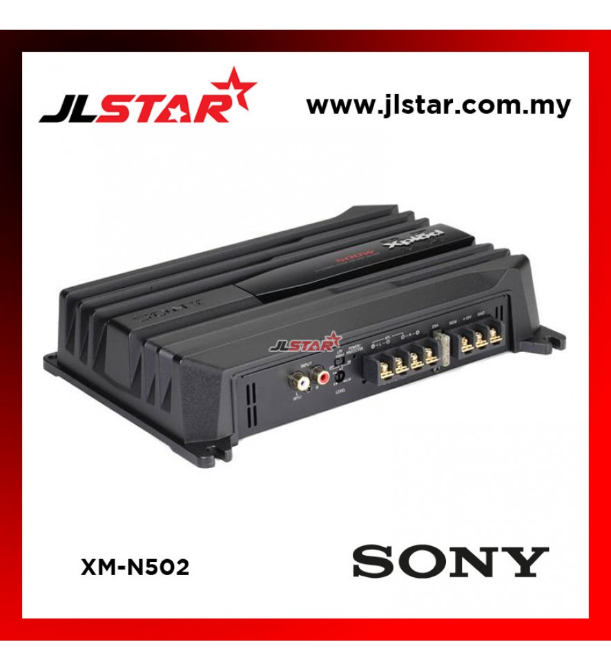 SONY XM-N502 2-CHANNEL N SERIES CAR POWER AMPLIFIER