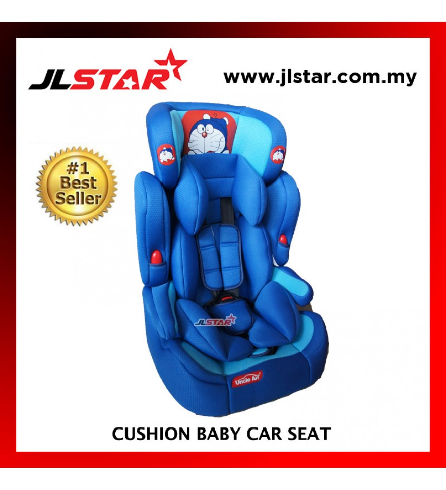 DORAEMON BABY CAR SEAT FOR NEW BORN TO 5 YEARS OLD BLUE COLOR