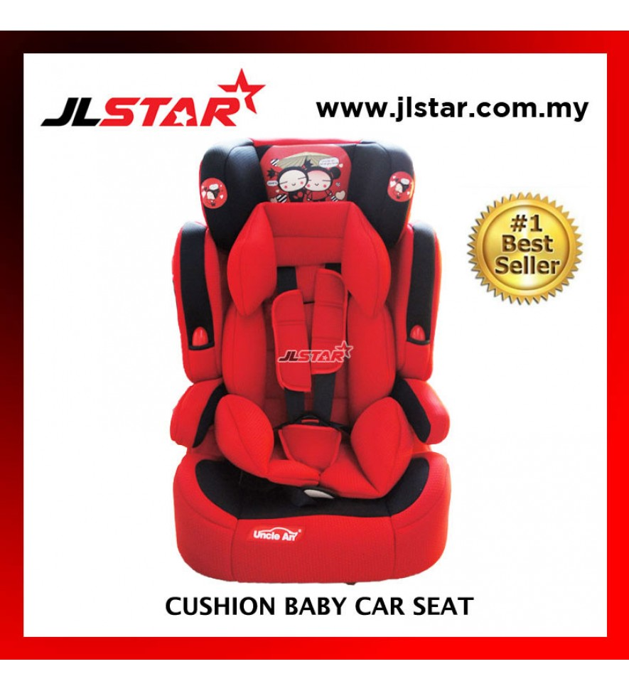 CHINA DOLL BABY CAR SEAT FOR NEW BORN TO 5 YEARS OLD RED COLOR
