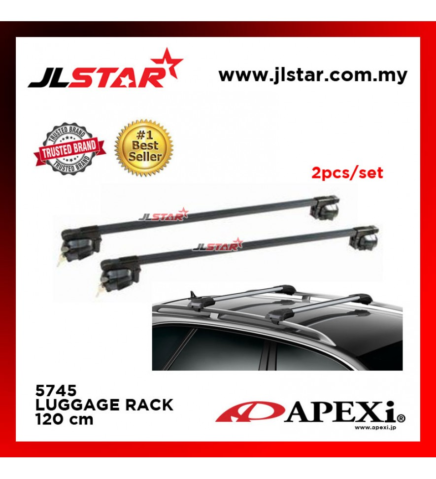 PT5745 ROOF RACK CROSS BAR ROOF BAR LUGGAGE CARRIER 2PCS