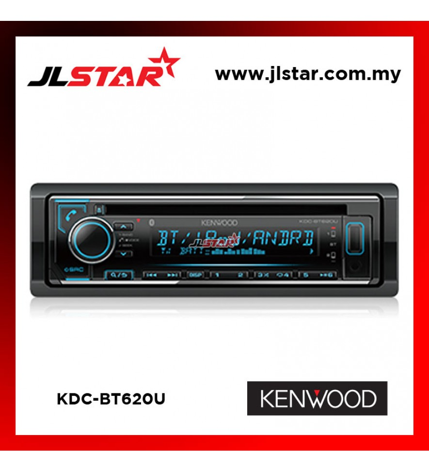 KENWOOD KDC-BT620U BLUETOOTH / USB / CD RECEIVER