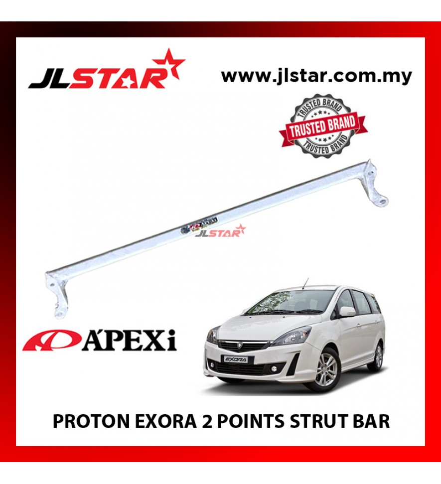 PROTON EXORA 2 POINT FRONT STRUT BAR