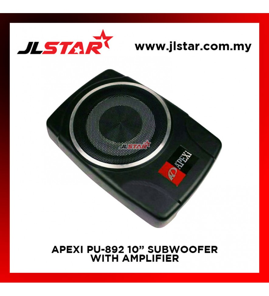APEXI PU-892 ACTIVE SUBWOOFER WITH BUILT IN AMPLIFIER