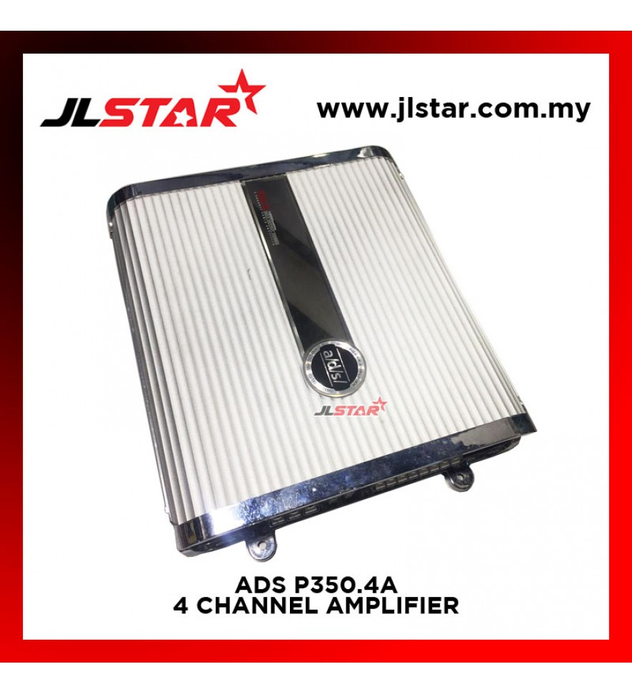 ADS P350.4A 4CHANNEL AMPLIFIER