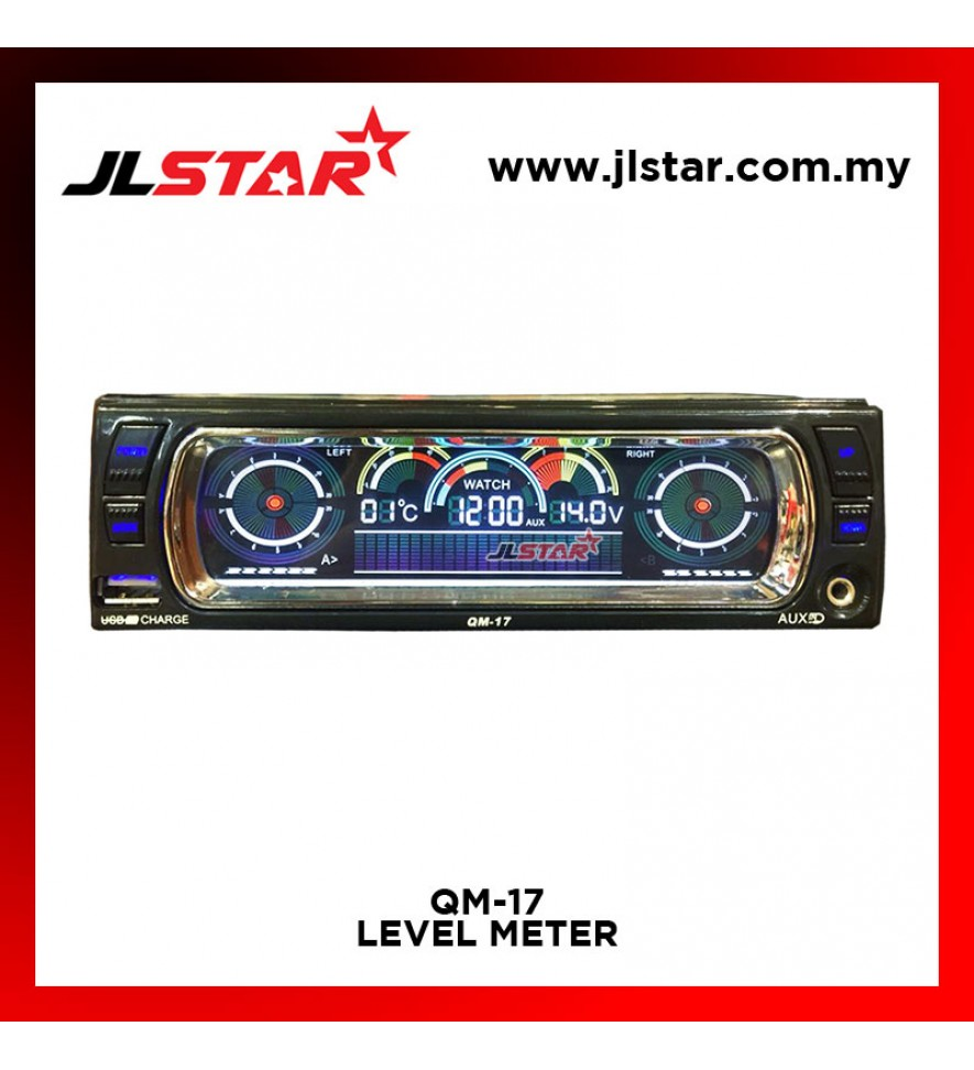 QM-17 LEVEL METER SPECTROMETER LED METER