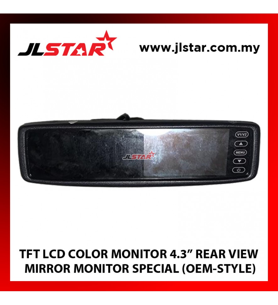"4.3"" REAR VIEW MIRROR MONITOR TFT LCD COLOR MONITOR"