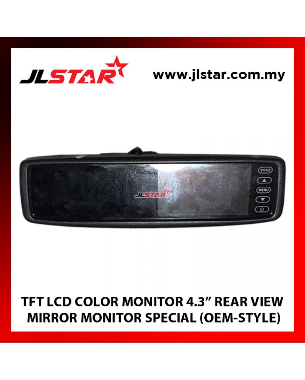 "4.3"" REAR VIEW MIRROR MONITOR TFT LCD COLOR MONITOR"