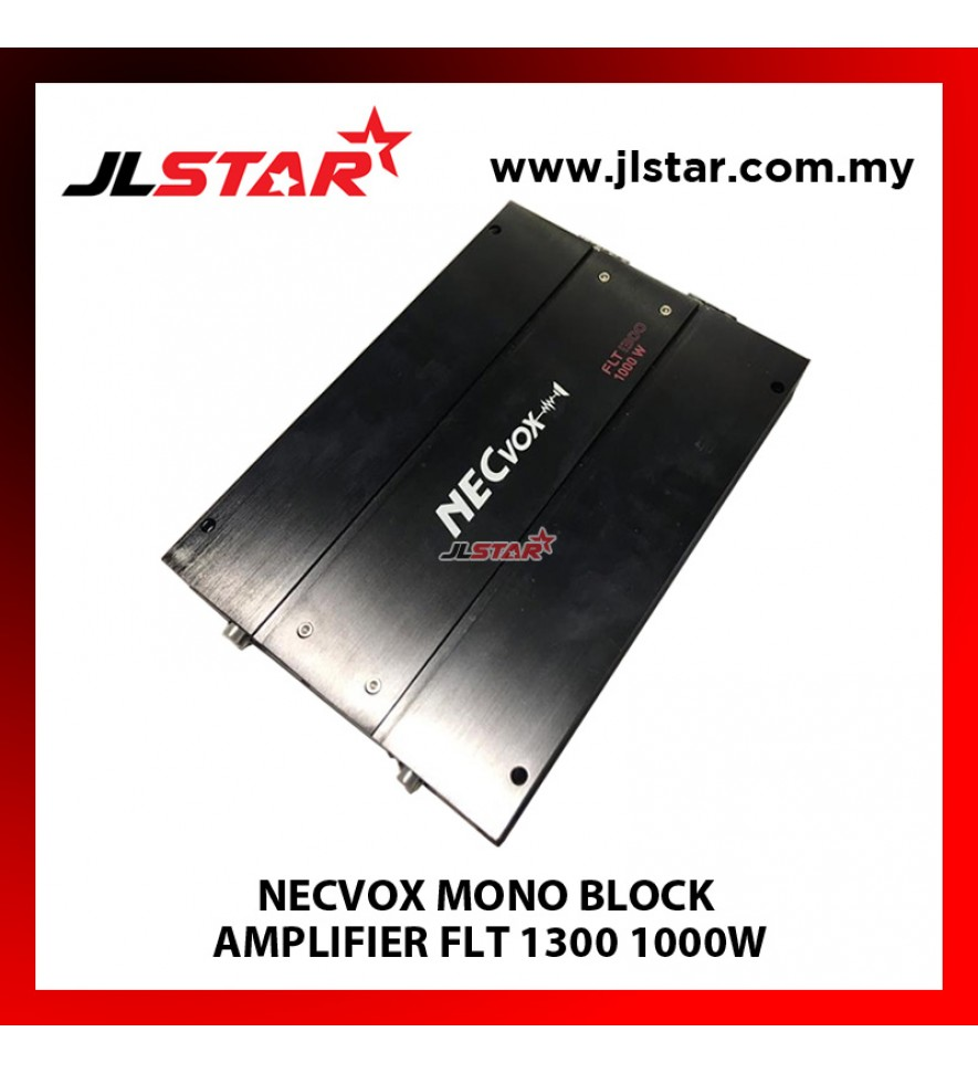 NECVOX FLT1300 MONO BLOCK AMPLIFIER 1000W