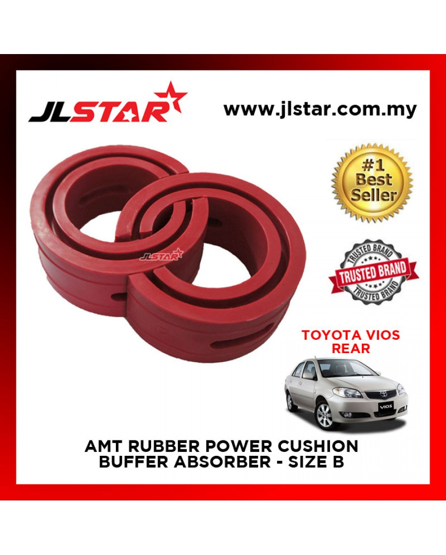 TOYOTA VIOS 2002 REAR SIZE B AMT RUBBER POWER CUSHION BUFFER ABSORBER COIL SPRING RUBBER DAMPER