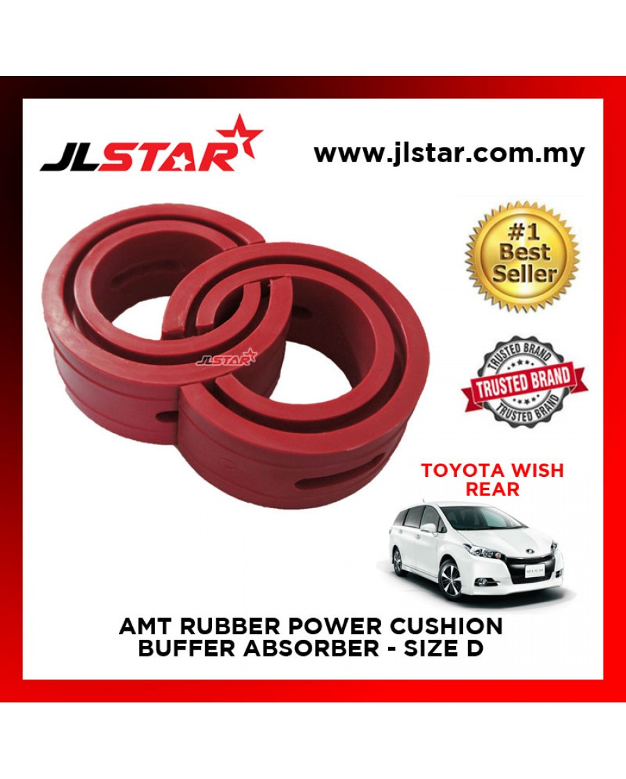 TOYOTA WISH REAR SIZE D AMT RUBBER POWER CUSHION BUFFER ABSORBER COIL SPRING RUBBER DAMPER