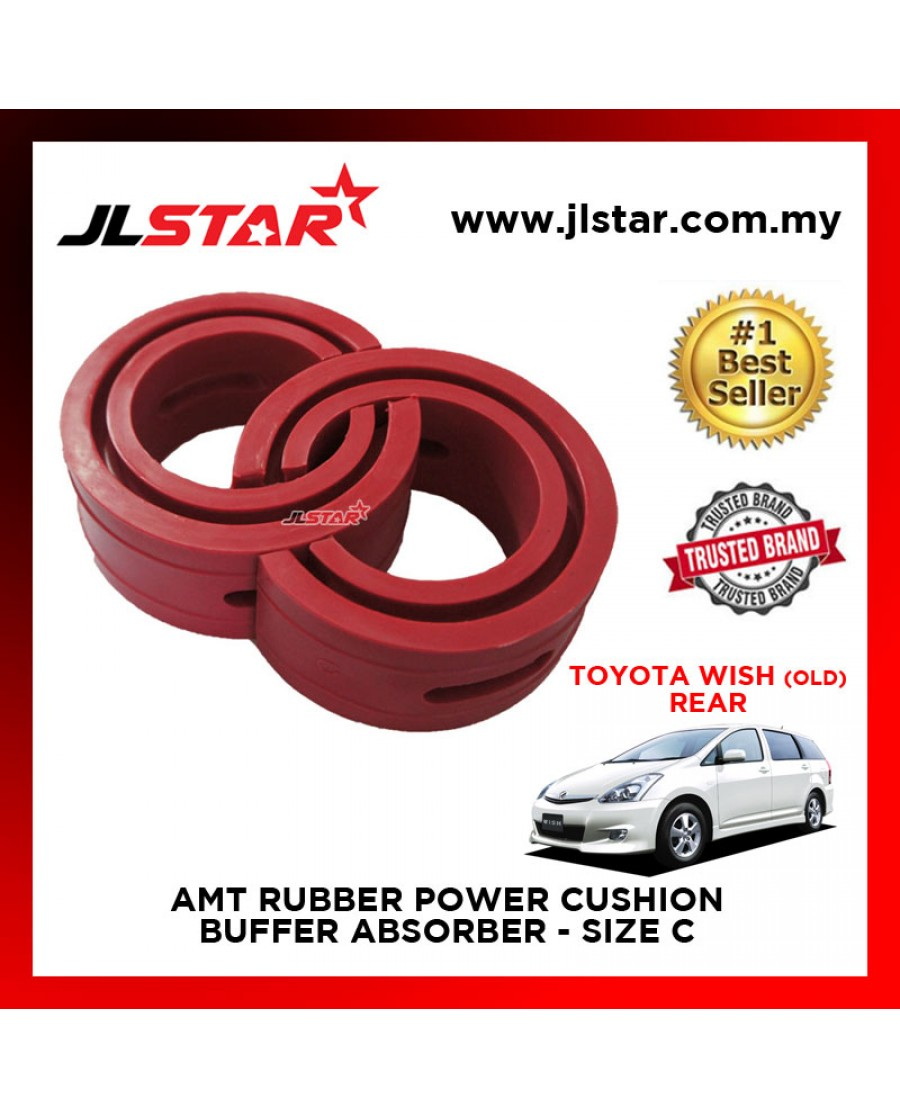 TOYOTA WISH (OLD) REAR SIZE C AMT RUBBER POWER CUSHION BUFFER ABSORBER COIL SPRING RUBBER DAMPER