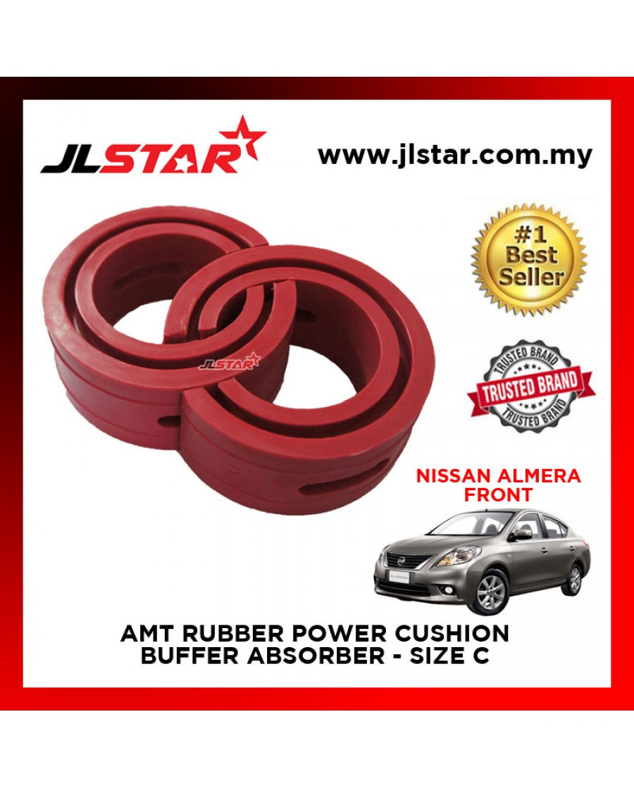 NISSAN ALMERA FRONT SIZE C AMT RUBBER POWER CUSHION BUFFER ABSORBER COIL SPRING RUBBER DAMPER