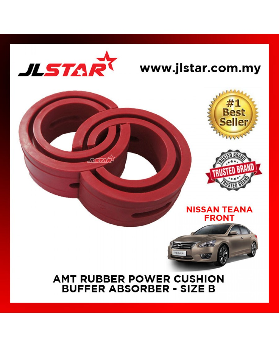 NISSAN TEANA FRONT SIZE B AMT RUBBER POWER CUSHION BUFFER ABSORBER COIL SPRING RUBBER DAMPER
