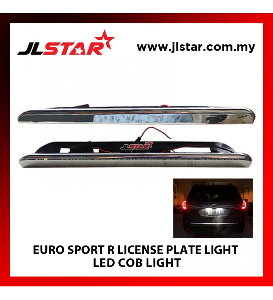 EURO SPORT R LICENSE PLATE LIGHT LED COB LIGHT