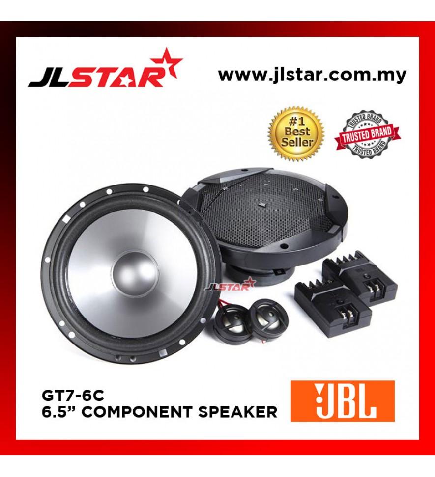 """JBL GT7-6C GT SERIES 6.5"""" COMPONENT SPEAKER SYSTEM"""