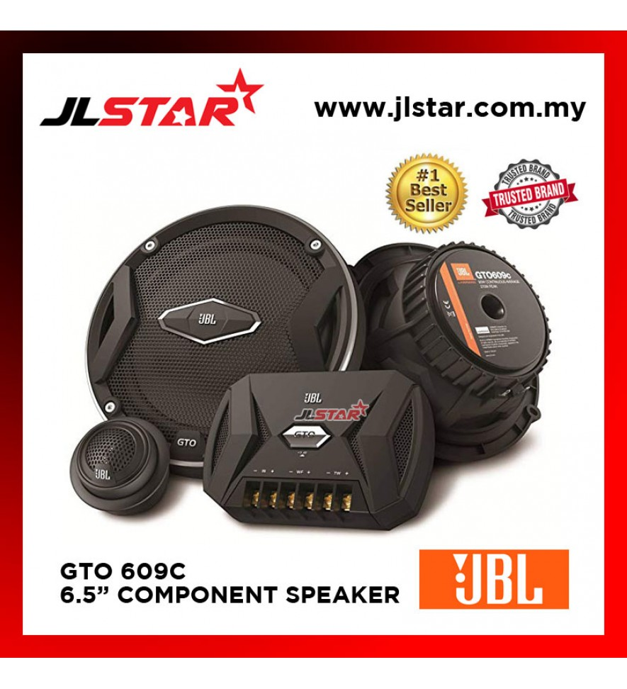 "JBL GTO 609C GTO-SERIES 6.5"" COMPONENT SPEAKER SYSTEM"
