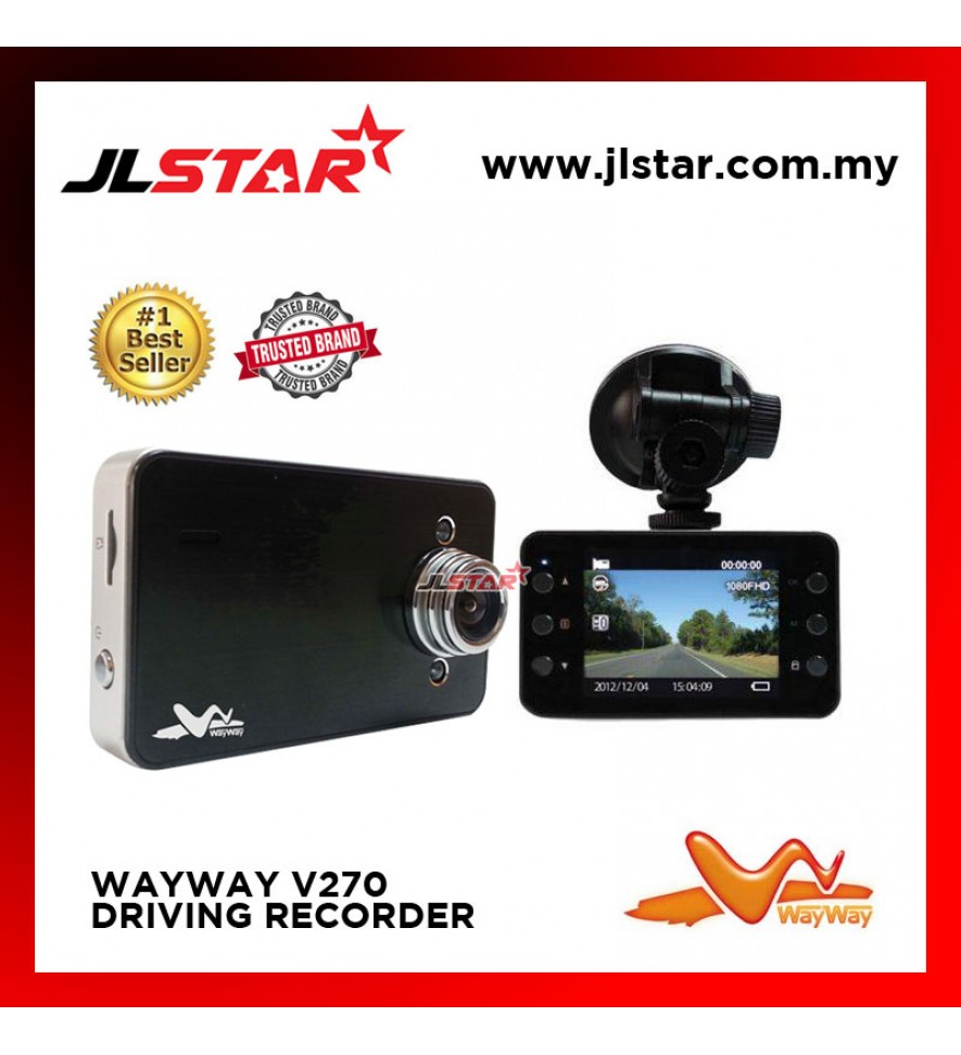 WAY WAY V270 MULTI-FUNCTION DRIVING VIDEO RECORDER DVR