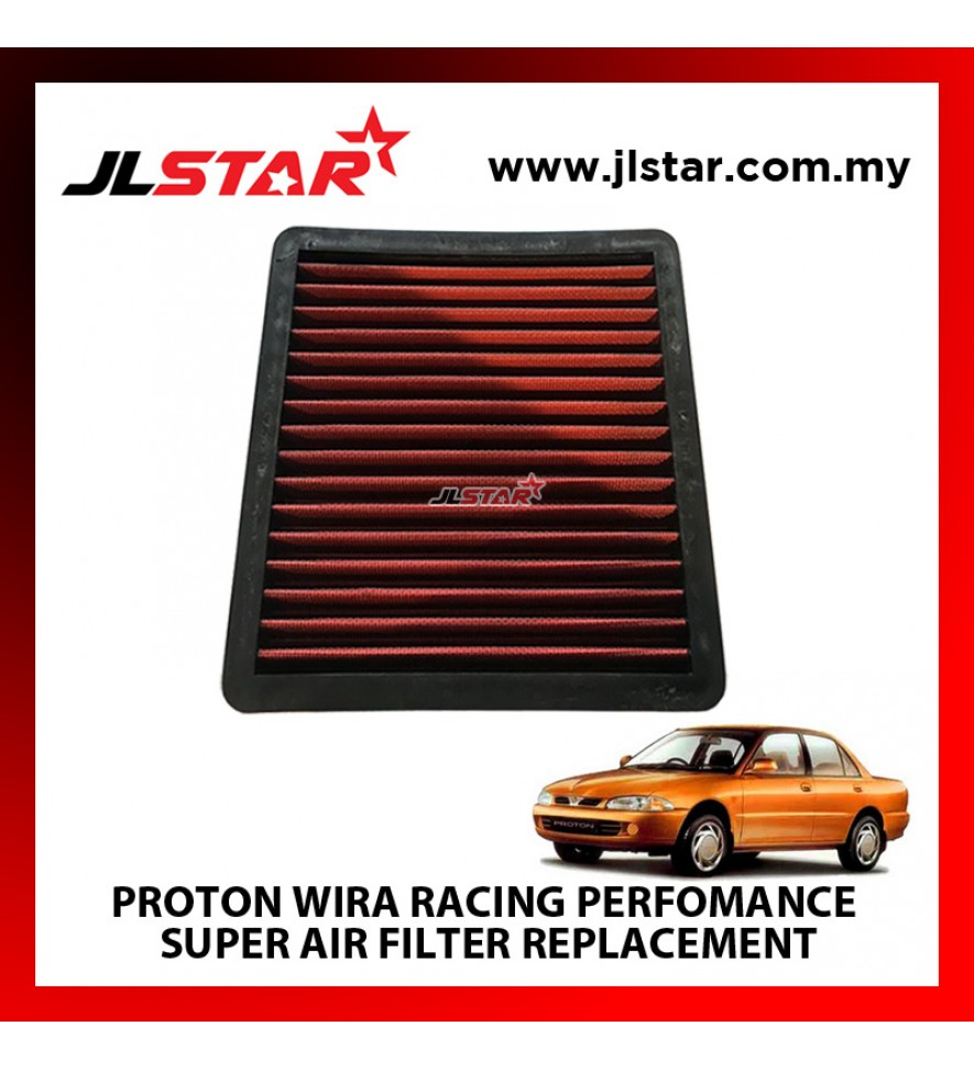 PROTON WIRA RACING PERFORMANCE DROP IN CAR REUSABLE AIR FILTER SAVE FUEL,SAVE MONEY & INCREASE ENGINE POWER