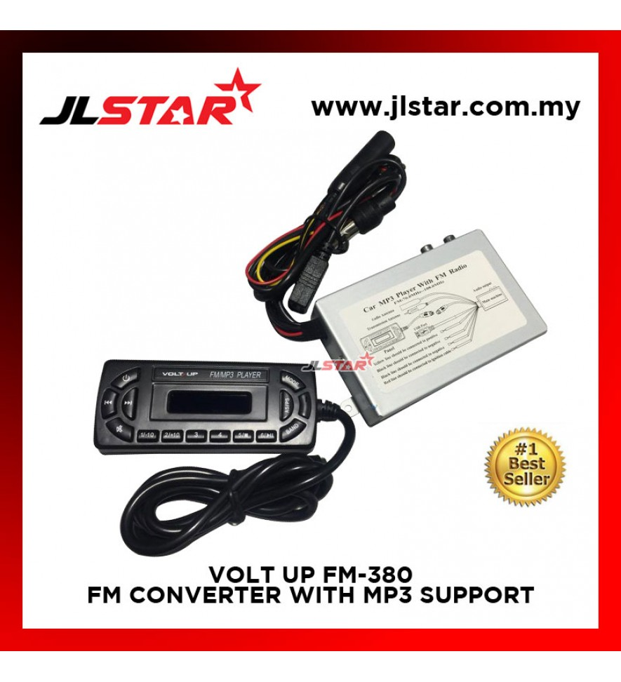 FM-380 FM BOOSTER / CONVERTER WITH MP3 USB