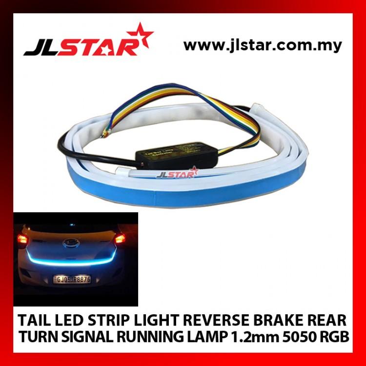 TAIL LED STRIP LIGHT REVERSE BRAKE REAR TURN SIGNAL RUNNING LAMP 1.2mm 5050 RGB