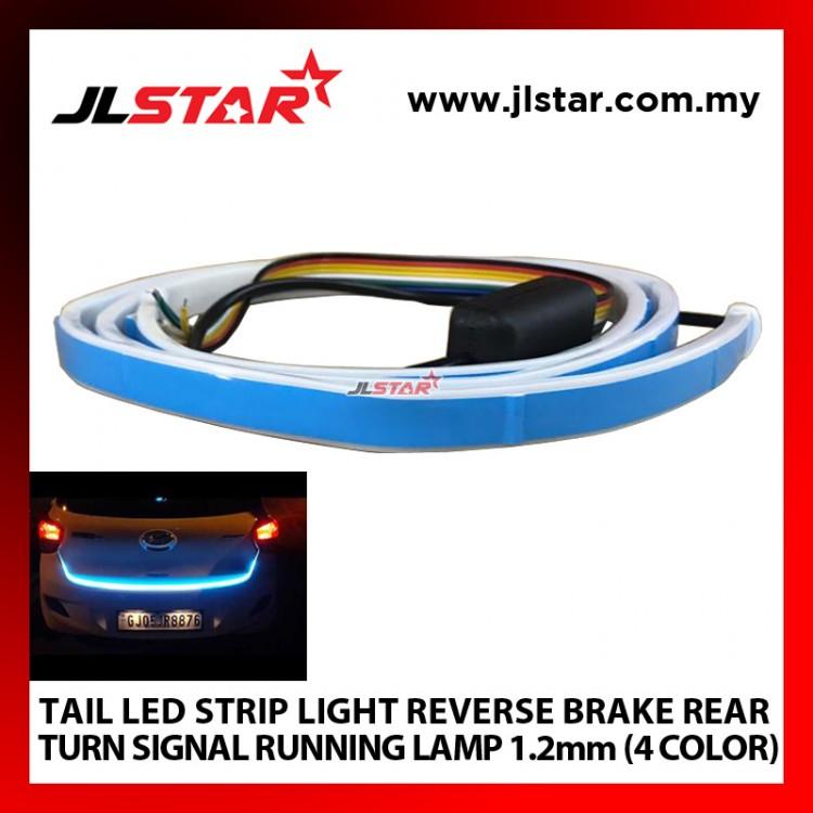 TAIL LED STRIP LIGHT REVERSE BRAKE REAR TURN SIGNAL RUNNING LAMP 1.2mm 4 COLOR