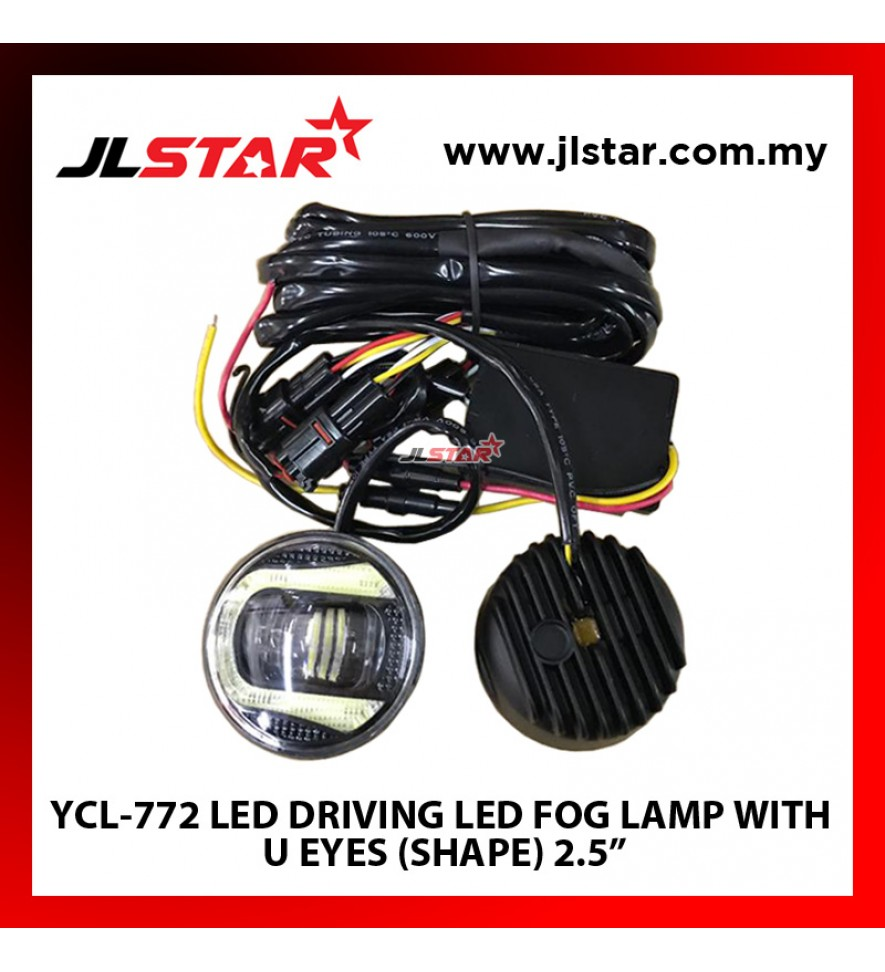 YCL-772 LED DRIVING LIGHT LED FOG LAMP WITH U EYES (SHAPE) 2.5""