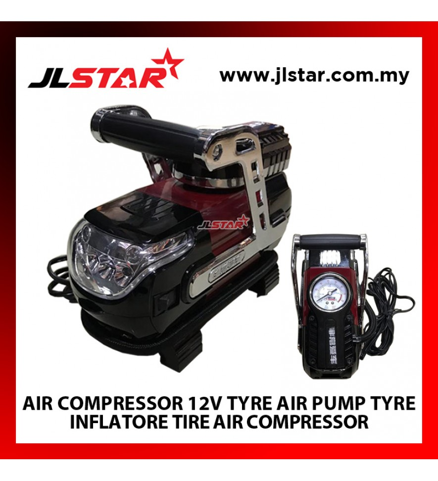 FEI CHANG AI CHE AIR COMPRESSOR 12V TYRE AIR PUMP TYRE INFLATOR TIRE AIR COMPRESSOR TIRE INFLATOR