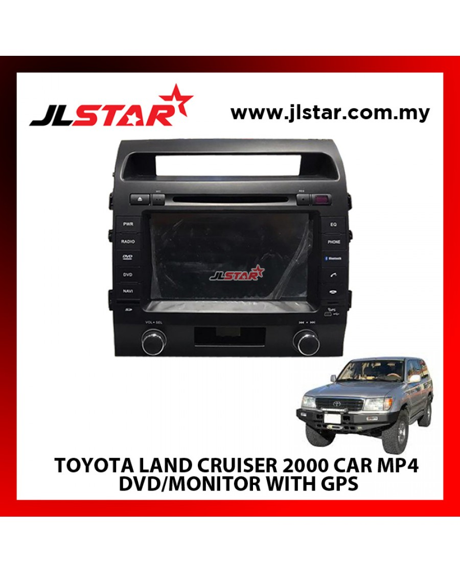 TOYOTA LAND CRUISER 2000 CAR MP4 DVD/MONITOR WITH GPS THE BEST CHOICE FOR MULTIMEDIA CAR ENTERTAINMENT SYSTEM
