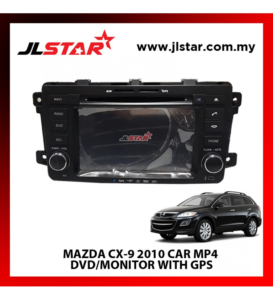 MAZDA CX-9 2010 CAR MP4 DVD/MONITOR WITH GPS THE BEST CHOICE FOR MULTIMEDIA CAR ENTERTAINMENT SYSTEM