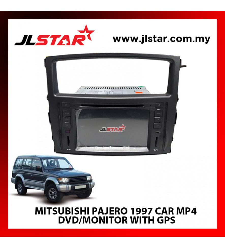 MITSUBISHI PAJERO 1997 CAR MP4 DVD/MONITOR WITH GPS THE BEST CHOICE FOR MULTIMEDIA CAR ENTERTAINMENT SYSTEM