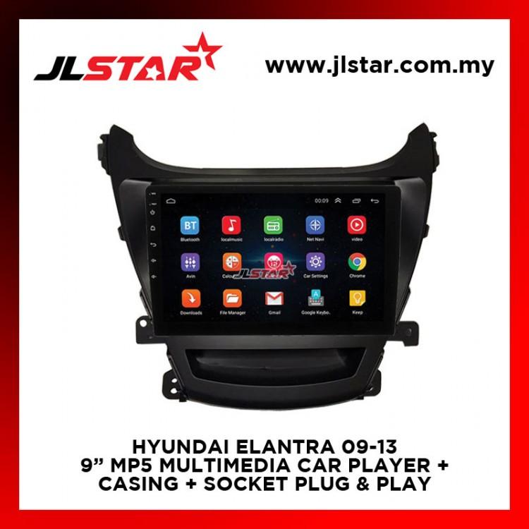 HYUNDAI ELANTRA 09-13 9 INCH MIRRORLINK MP5 MULTIMEDIA CAR PLAYER OEM PLUG & PLAY