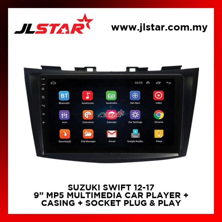 SUZUKI SWIFT 12-17 9 INCH MIRRORLINK MP5 MULTIMEDIA CAR PLAYER OEM PLUG & PLAY