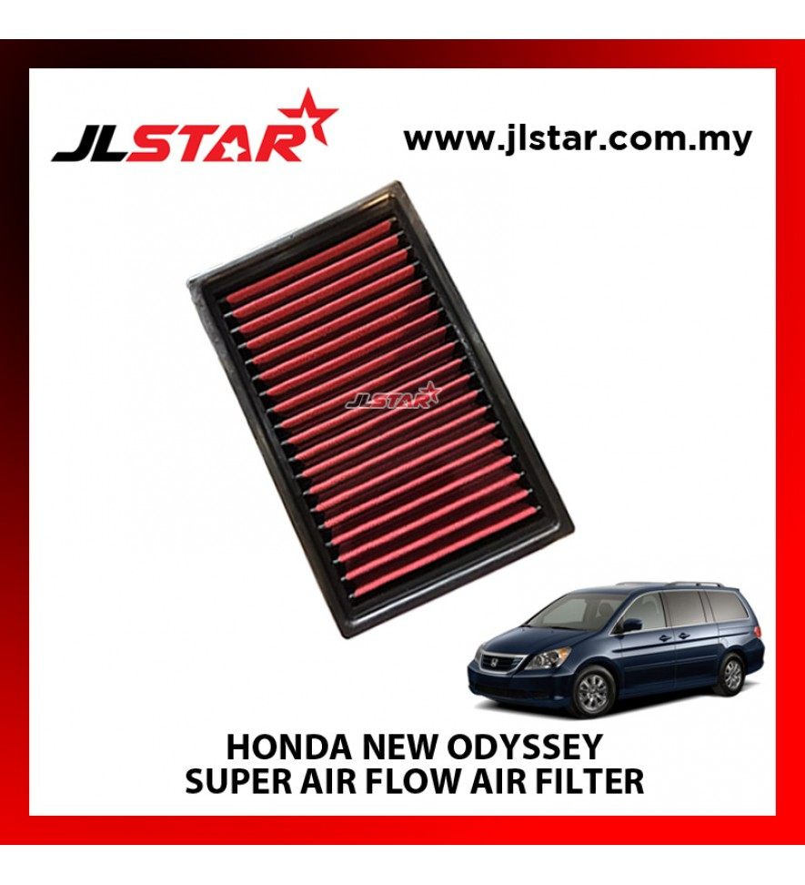 HONDA ODYSSEY SUPER AIR FLOW AIR FILTER REUSABLE LAST FROM 50,000 KM - 100,000 KM