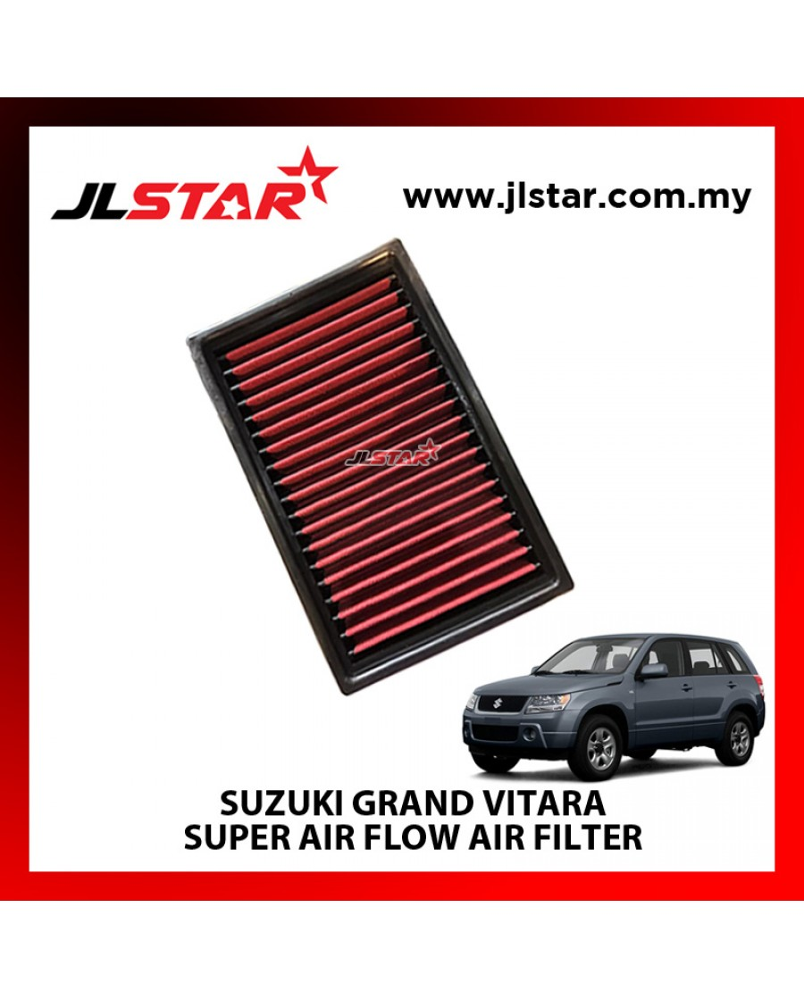 SUZUKI GRAND VITARA SUPER AIR FLOW AIR FILTER REUSABLE LAST FROM 50,000 KM - 100,000 KM