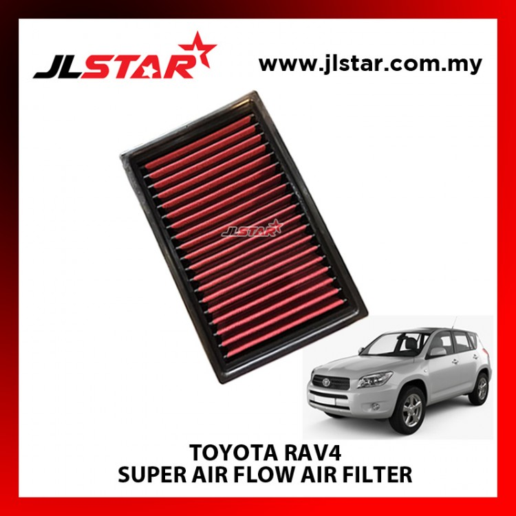 TOYOTA RAV4 SUPER AIR FLOW AIR FILTER REUSABLE LAST FROM 50,000 KM - 100,000 KM