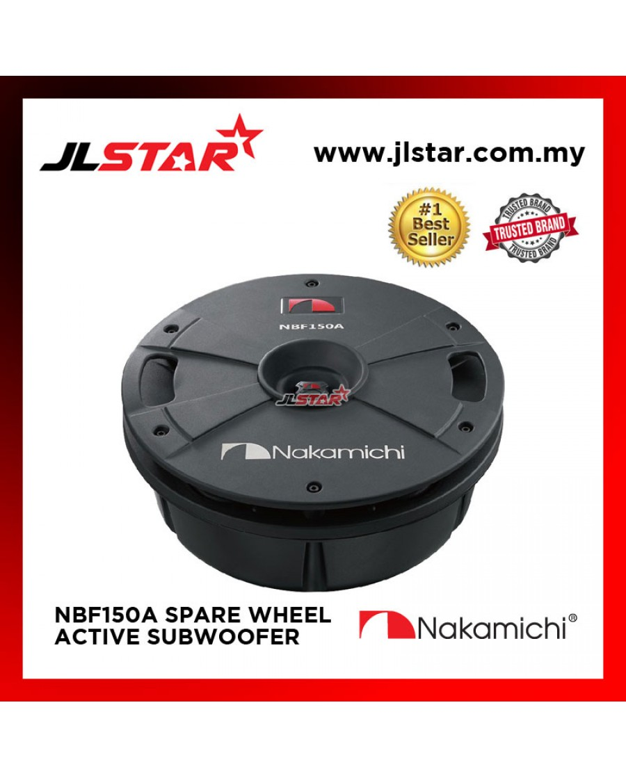 NAKAMICHI NBF150A 15INCH SPARE WHEEL ACTIVE SUBWOOFER