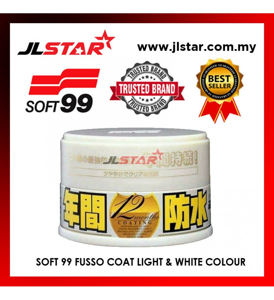 SOFT 99 FUSSO COAT LIGHT COLOR WAX 00298