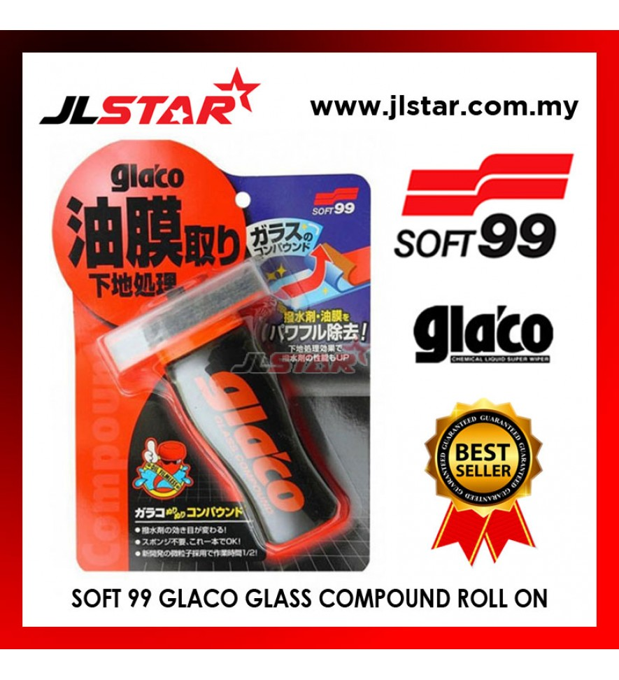 SOFT 99 GLASS COMPOUND ROLL ON 04101