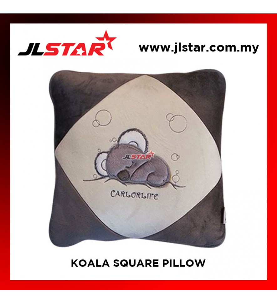 KOALA SQUARE PILLOW + BLANKET