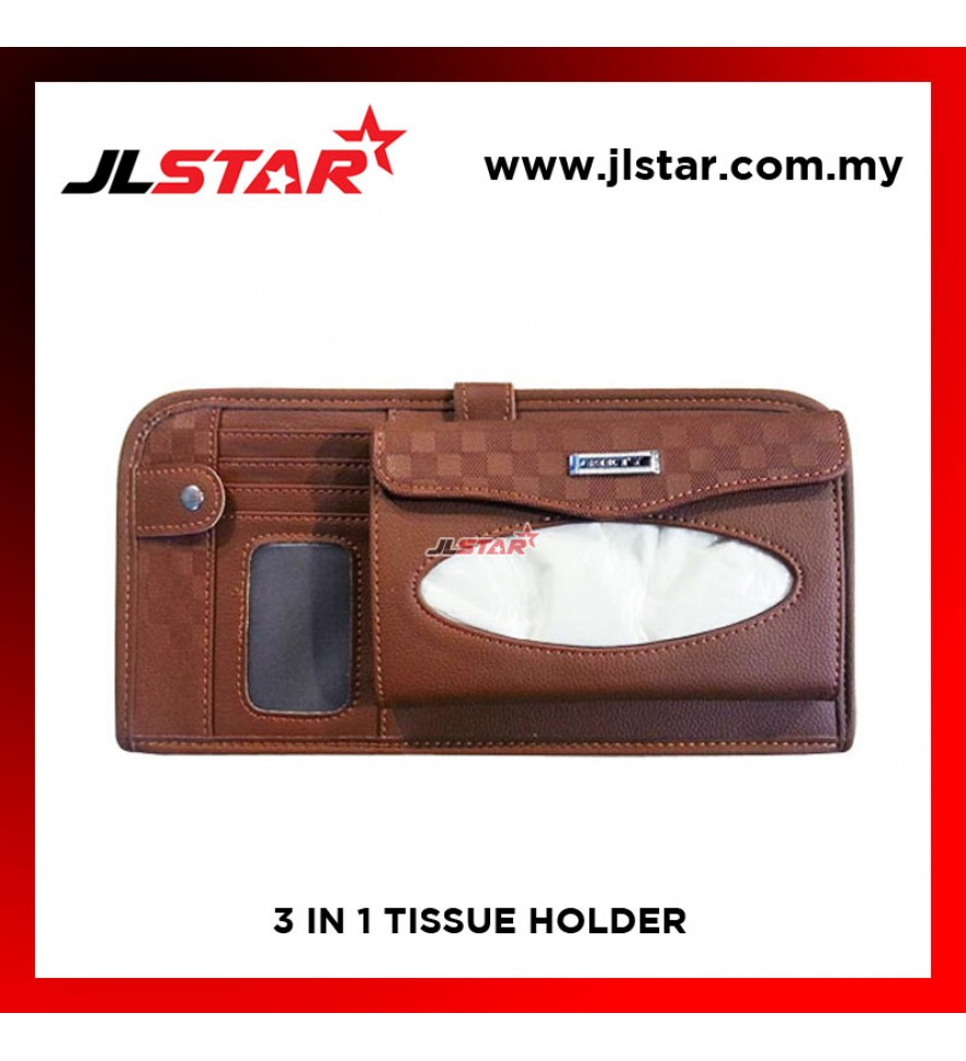 EXECUTIVE MULTIFUNCTION 3IN1 TISSUE HOLDER