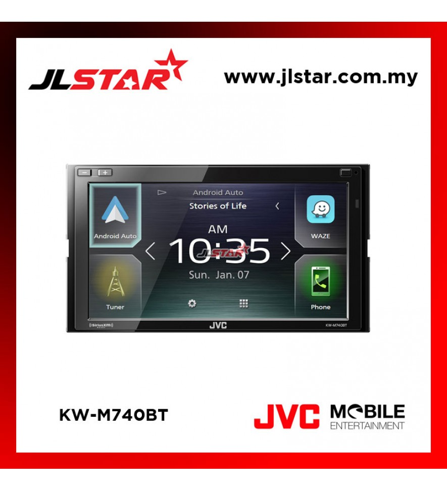 JVC KW-M740BT DOUBLE DIN PLAYER