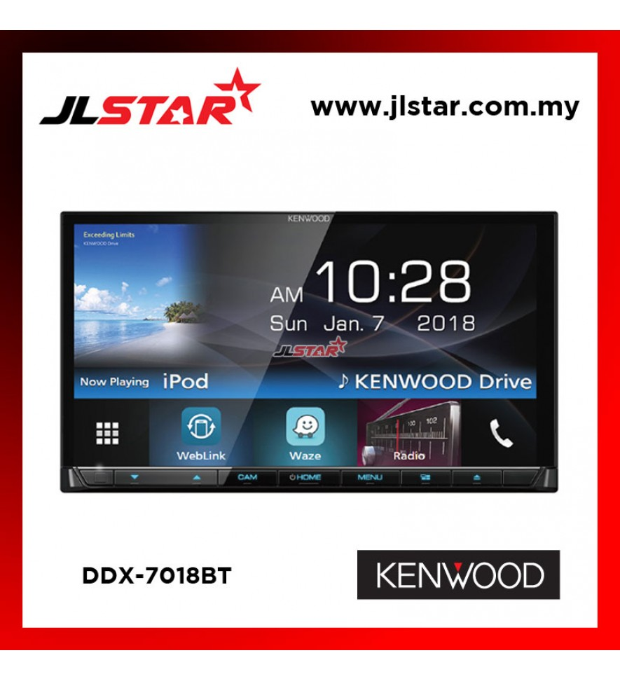 KENWOOD DDX7018BT DOUBLE DIN PLAYER