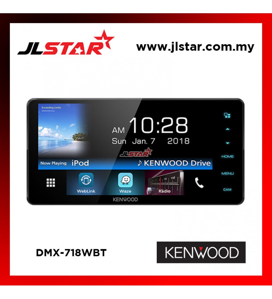 KENWOOD DMX718WBT DOUBLE DIN PLAYER