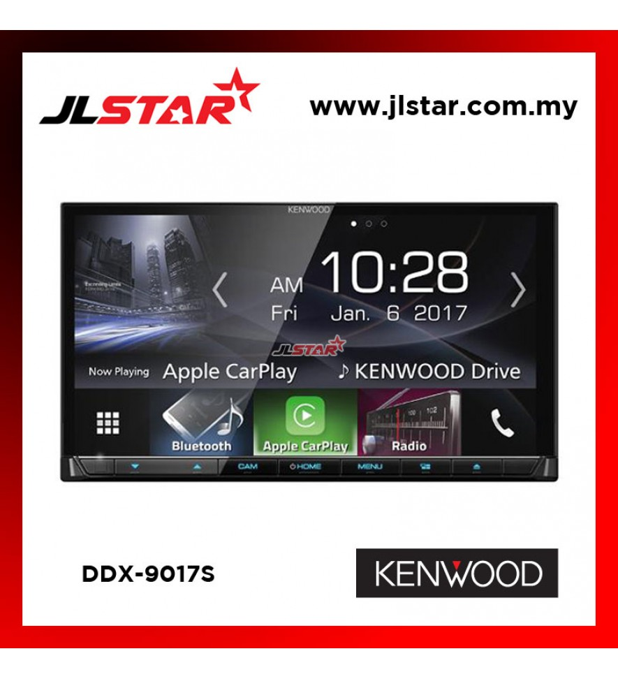 KENWOOD DDX9017S DOUBLE DIN PLAYER