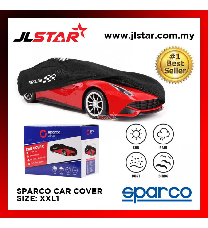 SPARCO CAR COVER SIZE XXL1