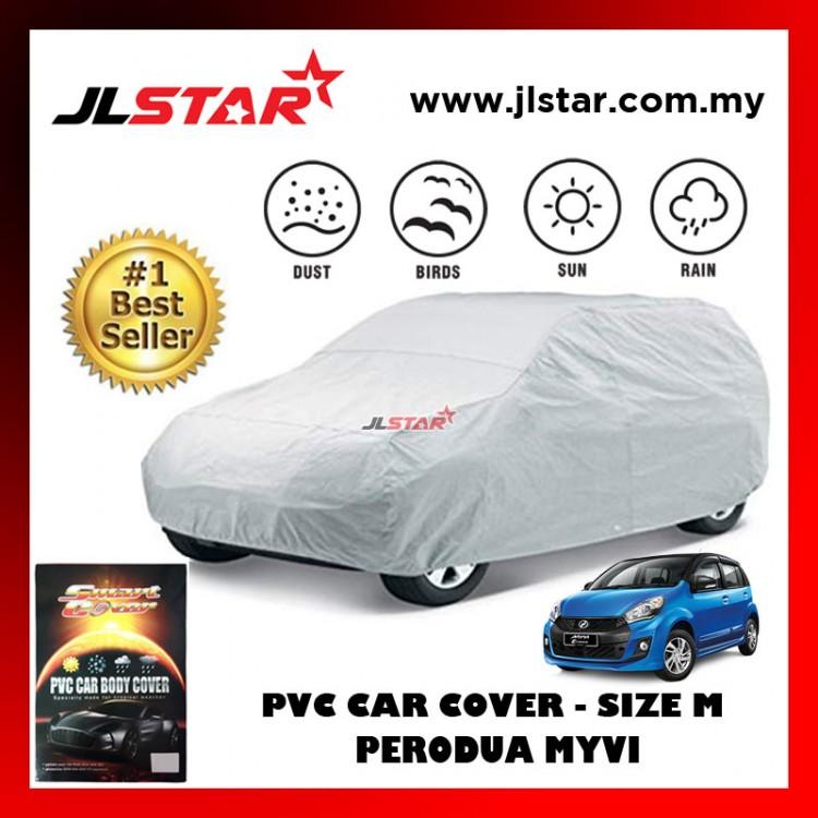 PVC CAR COVER PERODUA MYVI SUNPROOF