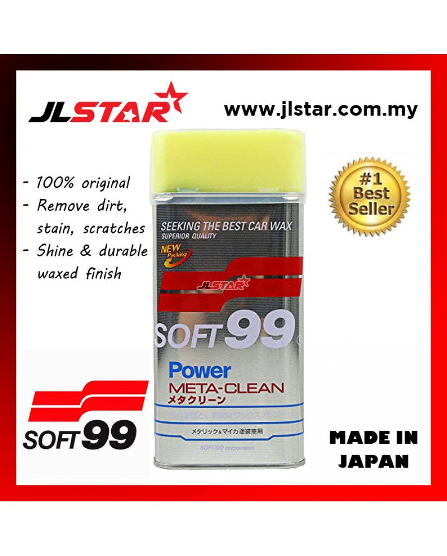 SOFT99 META CLEAN LIQUID POLISH WAX530ML