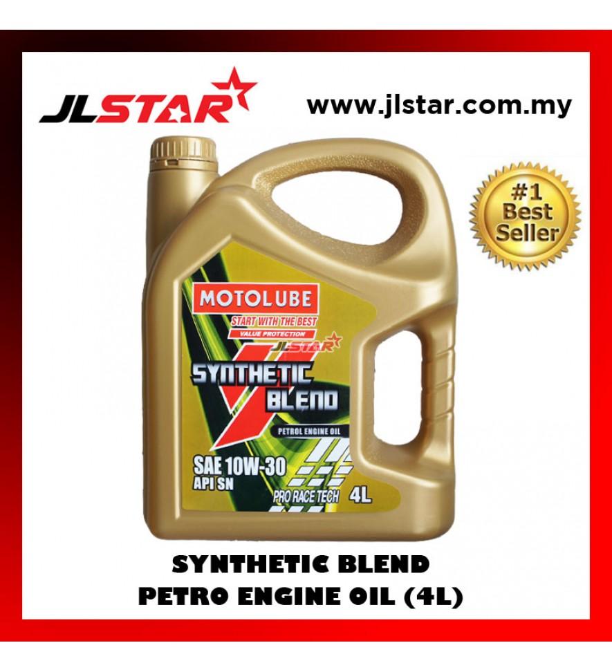 YOKOHAMA MOTORLUBE SYNTHETIC BLEND PETROL ENGINE OIL