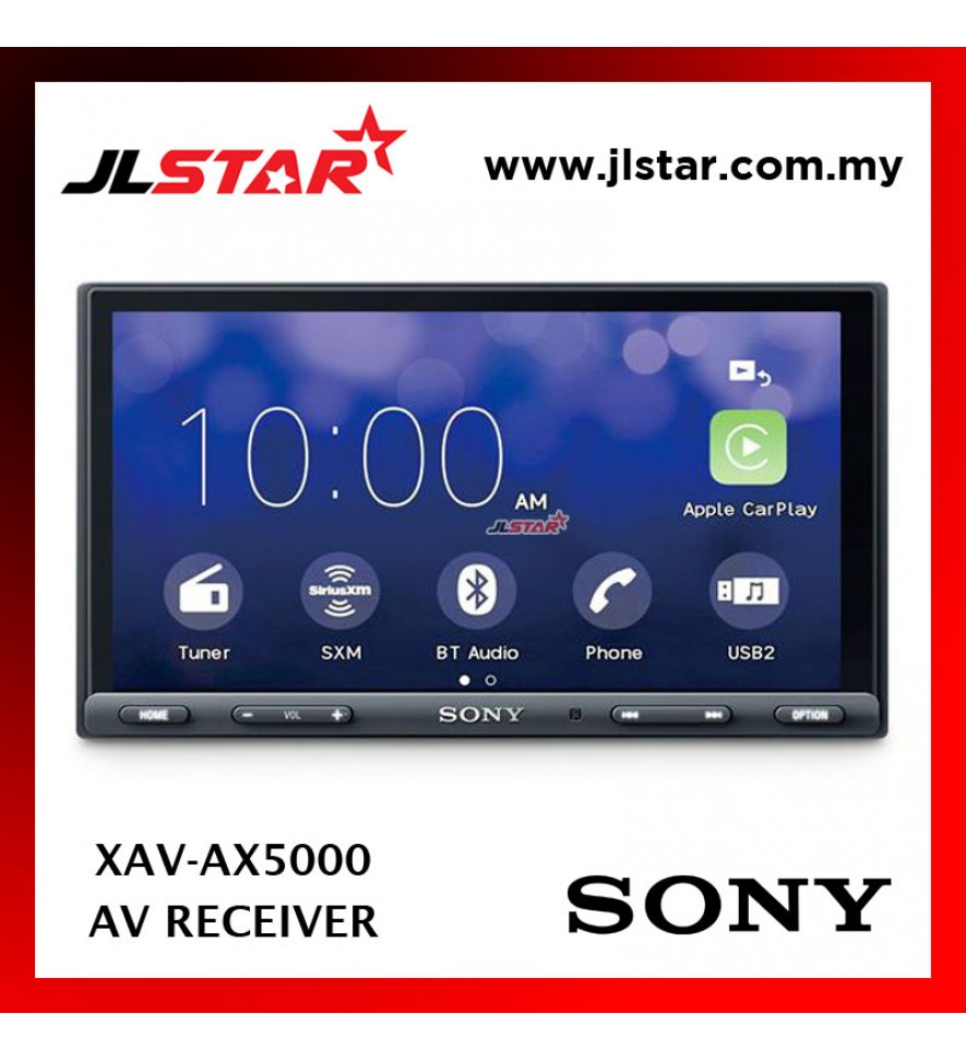 SONY XAV-AX5000 MEDIA RECEIVER WITH BLUETOOTH